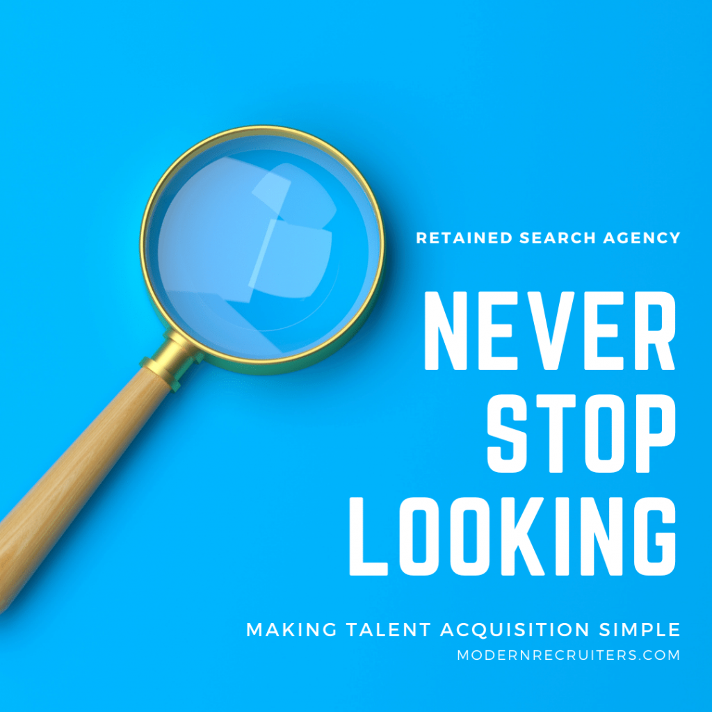 Retained Talent Search